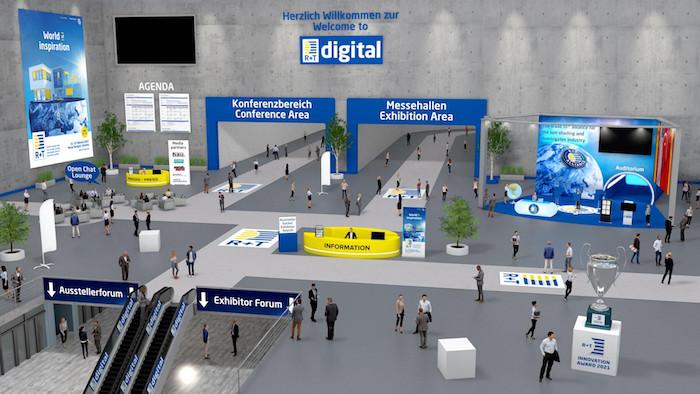 R+T Digital: Virtueller Marktplatz
