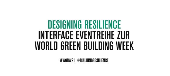 Interface: digitale Eventreihe zur #WGBW21