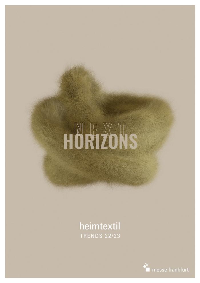 Heimtextil Trends 2022/23 – Next Horizons: Design neu gedacht